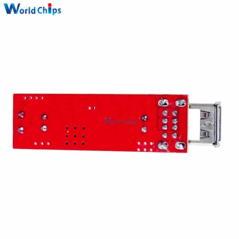 LM2596 Dual USB DC 6 V-40 V untuk 5V 3A Double USB Charge DC-DC Step-Down converter Modul untuk Kendaraan Charger Step Down Modul