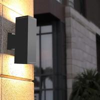 야외 방수 E27 벽 램프 벽 Sconce 정원 베란다 전면 도어 벽 램프 테라스 안뜰 테라스 벽 조명 BL100
