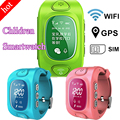 Hot GW300 GPS smartwatch smart wrist watch with GPS/GSM/WiFi/SOS Watch For Children Kids Smart GPS watch for Android & IOS phone