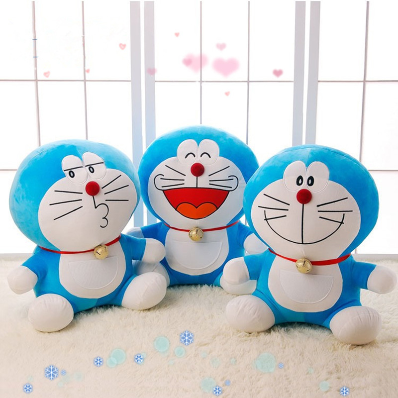40cm Doraemon Plush Toy Cute toy doll Stand By Me Cat Kids Toy For Kids Gift Doraemon Doll Figure Christmas Gift