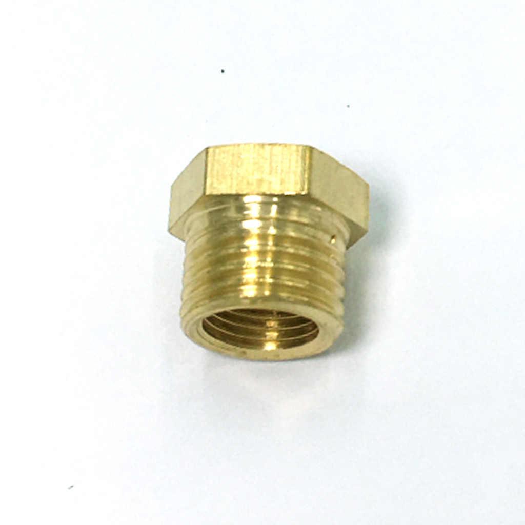 10 stück 1/8 Männlichen x 1/4 Zoll Messing Gerade Invert Flare Weibliche Rohr Adapter Fitting
