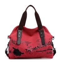 Female Handbag Women Large Thicken Canvas Casual Tote Messenger Bags Hobo Bolsas Femininas Grandes Shoulder Bag