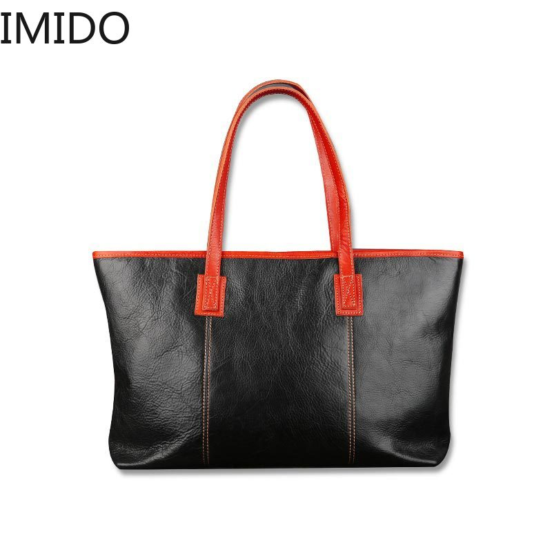 IMIDO 2019 Womens Oblique Cross Handbag Square Type Retro Pure Color Handmade Head Cowhide Bag Famous Designer Genuine LeatherIMIDO 2019 Womens Oblique Cross Handbag Square Type Retro Pure Color Handmade Head Cowhide Bag Famous Designer Genuine Leather