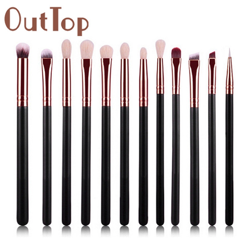 best deal hot dropshipping 12pcs cosmetic brush makeup brushes eyeshadow blush lip brushes sets kits tools for women beauty Best Deal Hot ! dropshipping 12Pcs Cosmetic Brush Makeup Brushes Eyeshadow Blush Lip Brushes Sets Kits Tools for Women Beauty