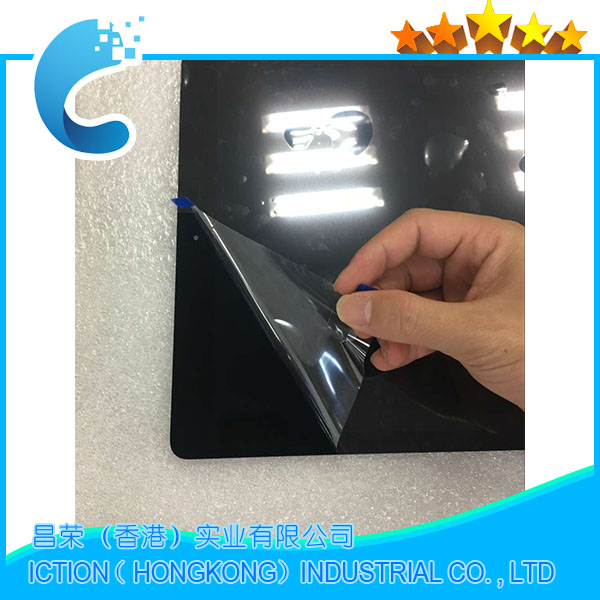 New Original Tablet For iPad Pro 12.9 inch LCD Assembly Screen Display Touch Panel with Board A1652 A1584 Black ML0F2LL EMC2827 original lcd touch screen replacement for ipad pro 12 9 inch a1652 a1584 display screen digitizer assembly black white