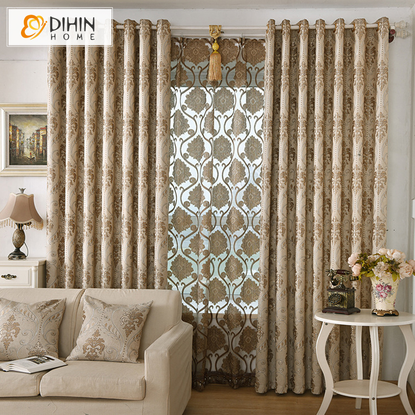 dihin 1 pc modern curtains for living room window screening ready made product high quality. Black Bedroom Furniture Sets. Home Design Ideas
