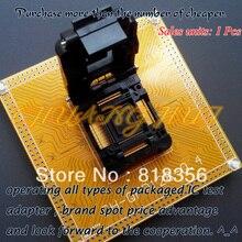 цена на IC51-1284-1788 Test socket TQFP128/QFP128/FPQ128 Adapter CH-QFP128-0.4 IC SOCKET Pitch:0.4mm