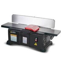 1 шт. 6 inch стол фуговальный станок по дереву 220 В 1100 Вт Автоматическая пылесосом multi угол поддержку чугунные плиты рубанок
