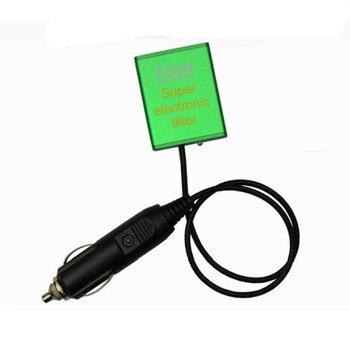 Súper filtro electrónico automático para todo tipo de coches, estilismo Dodge, estabilizador de voltaje, ahorro de combustible, aumenta el caballo y el Torque