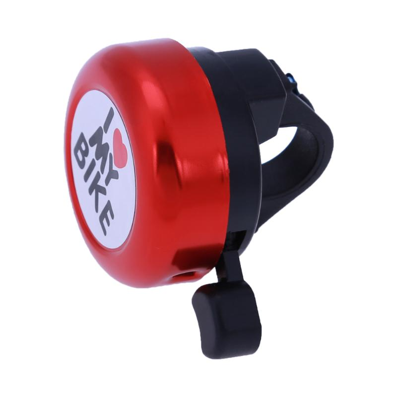 Plastic Bicycle Bell Outdoor Right Hand Bike Handlebar Clear Sound Loud Cycle Horn Alarm Warning Ring Bike Accessories Bicicleta