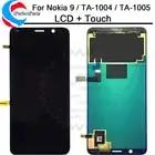 Para Nokia 9 Display LCD Digitador Da Tela de Toque versão 2018 TA TA 1004 1005 Para Nokia 9 LCD c9 Substituição Da Tela + ferramentas - 1