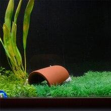 Ceramic Spawning Breed Cone Aquarium Fish Tank Decor for Aquatic Pets Discus Cave Stones Ornamnets Shrimp