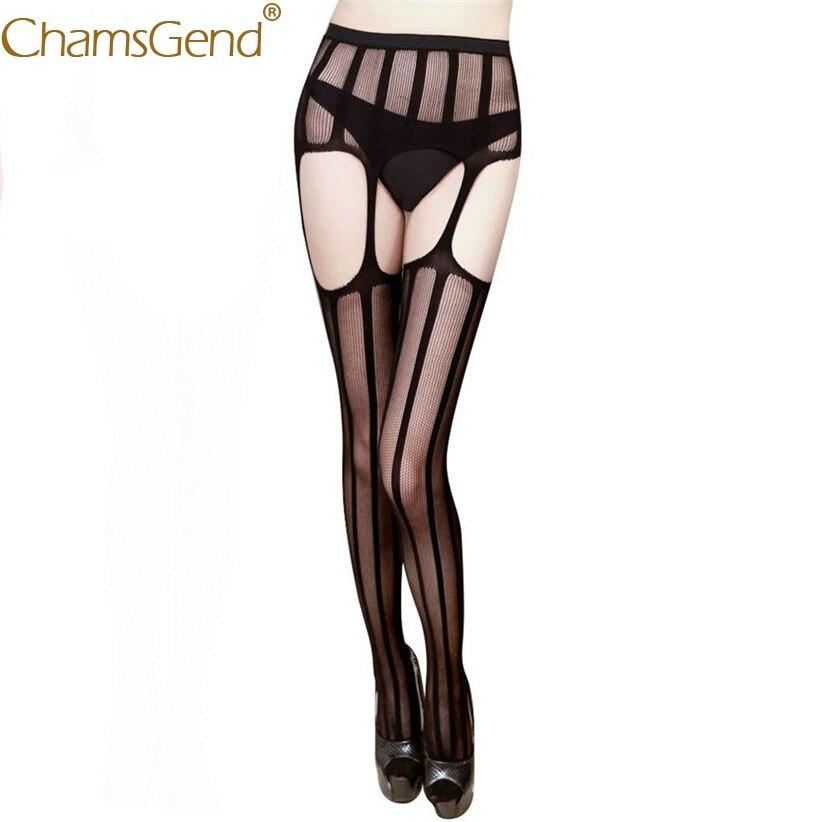 Lace Lingerie High Waisted Garter Belt Stockings Legging For Women Lady