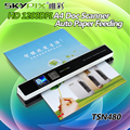 Skypix TSN480 Auto Paper Feeding JPG/PDF HD 1200DPI A4 Document Scanner Portable Document Scanner Handheld 1.44 LCD A4 Scanner