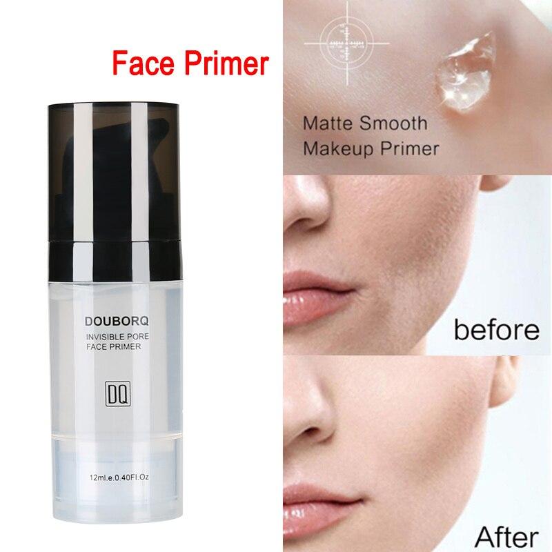 Makijaż baza pod podkład do twarzy naturalny matowy makijaż fundacja podkład pory niewidoczny przedłużyć olejek do twarzy kontrola kosmetyk 2
