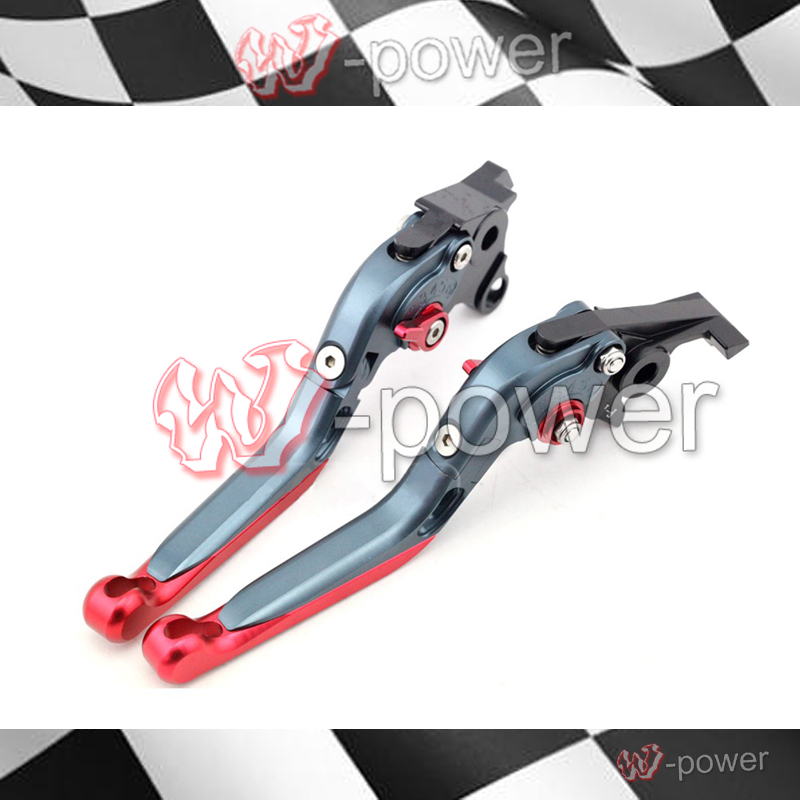 fite For SUZUKI GSF GSF650 GSF1200 GSF1250 BANDIT Motorcycle Adjustable Foldout Extendable Brake release lever T + R