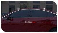 For Chevrolet Cruze / Holden Astra Sedan 2017 Stainless steel Headup window trim 8pcs