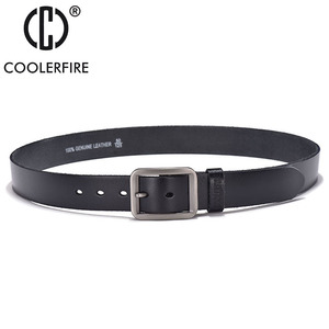 Image 5 - Luxury belt mens belts pronged buckle mans genuine leather strap for jean high quality wide brown color fashion JTC012