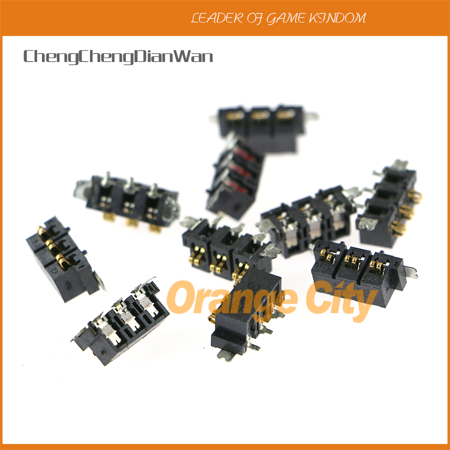 OCGAME 50pcs/lot original <font><b>battery</b></font> socket for <font><b>2ds</b></font> repairs parts image