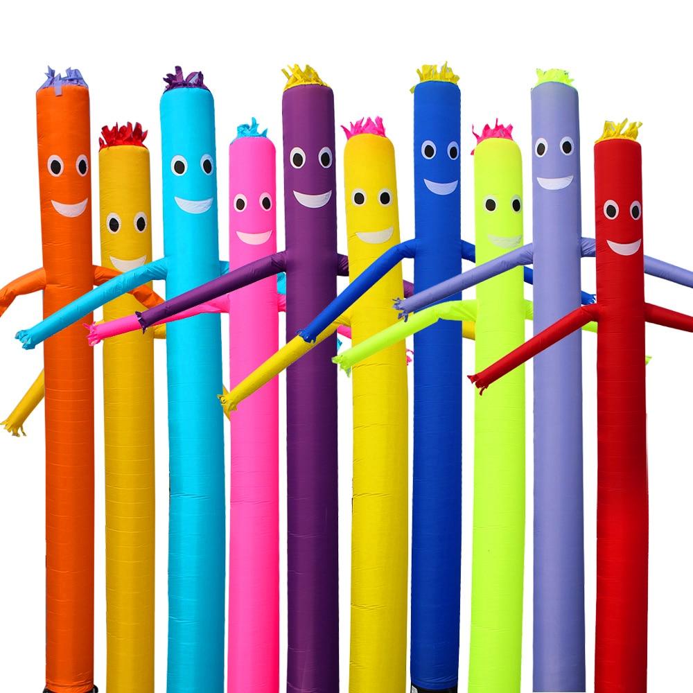 NOUVEAU 20ft 6 m Air Danseur Ciel Danseur Gonflable Tube Marionnettes Ciel Tube Homme Marionnette Vent Halloween Gonflable Château gonflable halloween