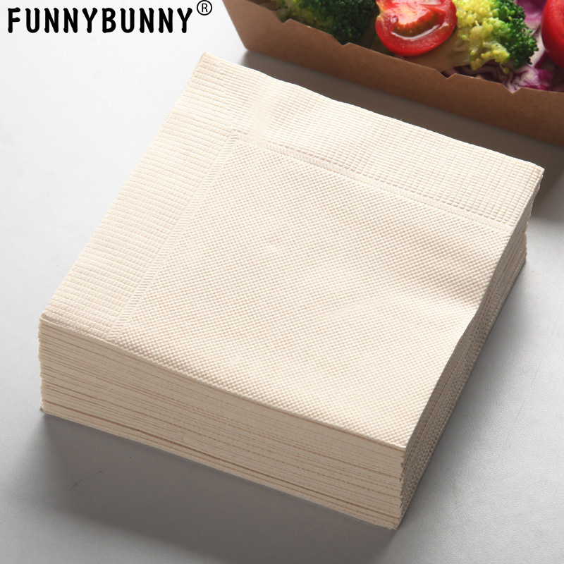 16 Pack Boy Blue HAPPY CHRISTENING Day Baptism Luncheon Paper Napkin 2ply 33cm
