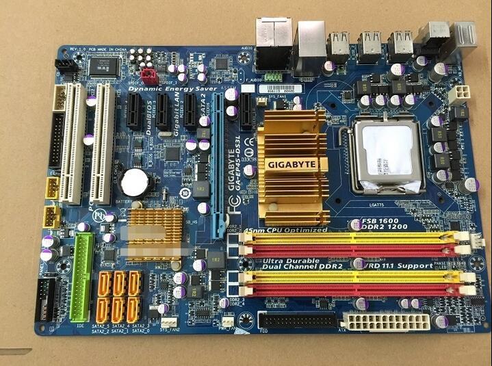 ФОТО 90%-80% for new original motherboard for Gigabyte GA-EP45-DS3L LGA 775 DDR2 P45 Desktop Motherboard Free shipping