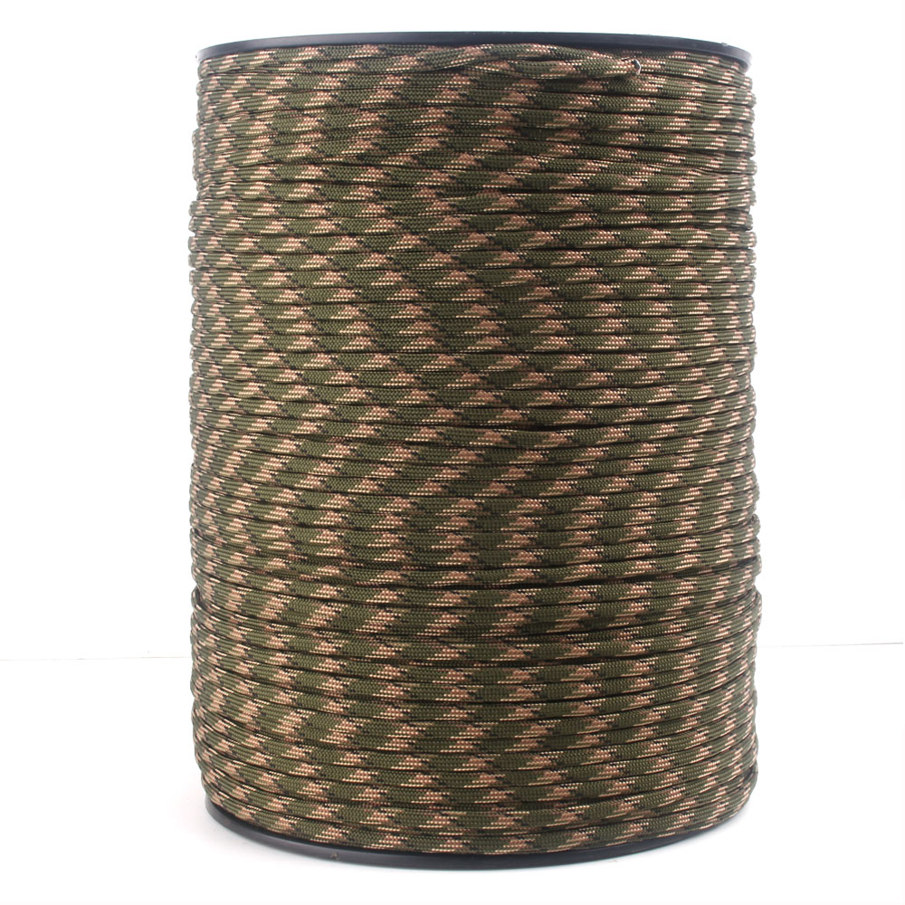"""Image 3 - 252 Colors 1000FT 550 Paracord / Parachute Cord Type III 7 Strand, 5/32"""" (4mm) Diameter Nylon Military Survival Cordage Wholesalparacord 550paracord 550 1000ftparacord 550 paracord -"""