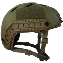 Tactical Lightweight Ops-Core Fast Base Jump PJ type Military Helmet militech fast od green fa style super abs airsoft tactical helmet ops core style high cut training helmet super tough quality
