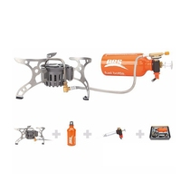 BRS Portable Oil Gas Multi Use Stove Set Camping Stove Picnic Gas Stove Sets Cooking Cooker Stoves BRS 8