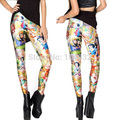 2014 Blancanieves Princesas Ropa Leggings Leggings Punk Gimnasio Para Las Mujeres Leggings
