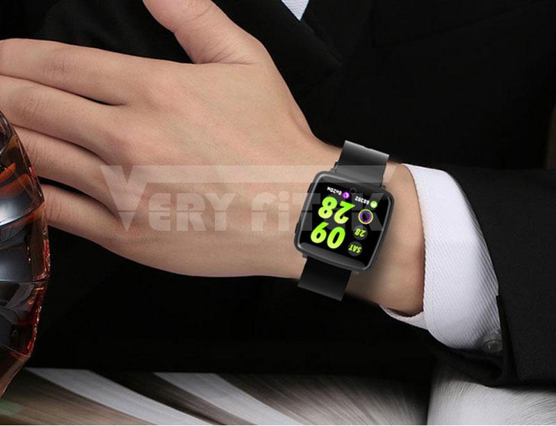 VERYFiTEK Smartwatch Blood Pressure Heart Rate Monitor Men Women Sport Watch Pedometer Stopwatch Smart Watch for IOS Android (19)