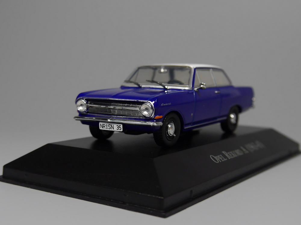 Auto Inn - ixo 1:43 Opel Rekord A 1963-65 Diecast model car лампа настольная supra sl tl300 silver