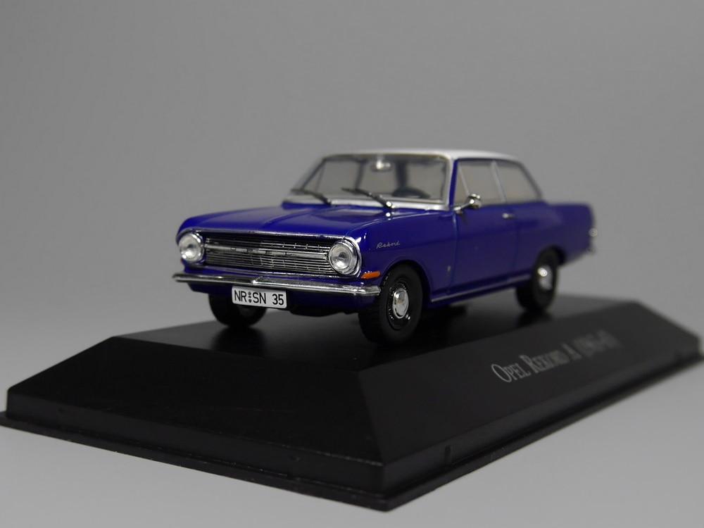Auto Inn - Ixo 1:43 Opel Rekord A 1963-65 Diecast Model Car