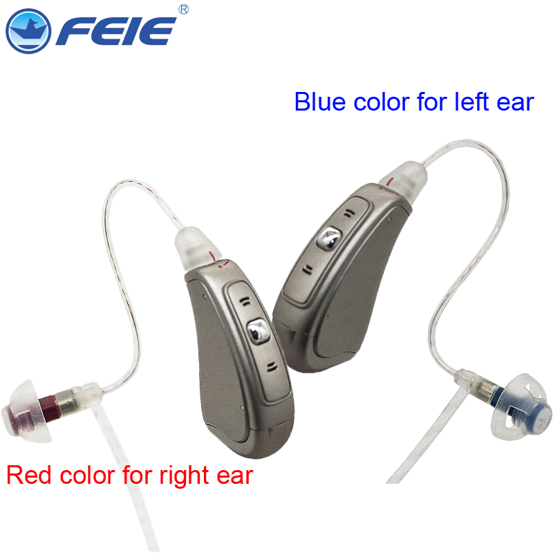 Hearing Aid Batteries A312 Hearing Aid Headphone Amplifier Sound Loudly Listening Device Free EMS Drop Shipping Deaf Aid MY-20