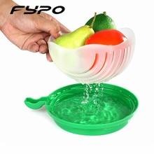60 seconds salad cutter bowl cut fruit vegetables salad bowl Creative kitchen tools big large plastic