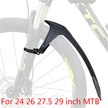 24 26 27.5 29 inch MTB Mudguard Soft Rubber TPE Bicycle Front Rear Wing for Bicycle Mud Guard Mountain Bike Fender Accessories