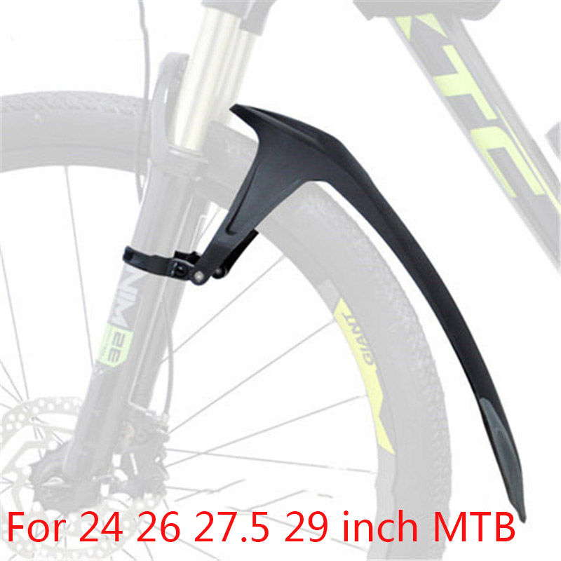 "Rear Mudguard 26/"" Fork Fender Bicycle MTB Mucky Mountain Enduro Set 700C Front"