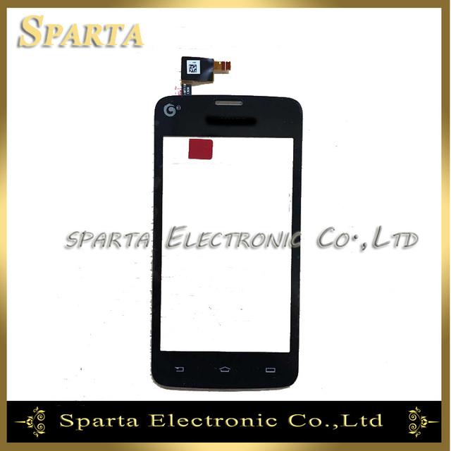 """100% qualidade original 4.0 """"china versão para philips w3568 sensor substituição do painel de toque digitador da tela de toque preto"""
