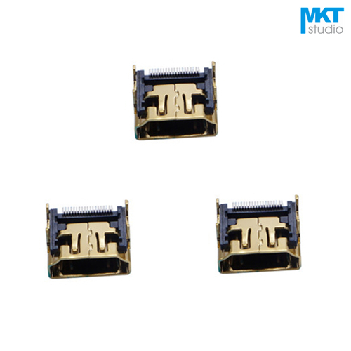Accessories & Parts Useful Claite 19 Pin Hdmi Female Connector Type A Hdmi Socket Gold-plated Plug Smt Smd Diy Video Connector 4 Legs Plug & Connectors