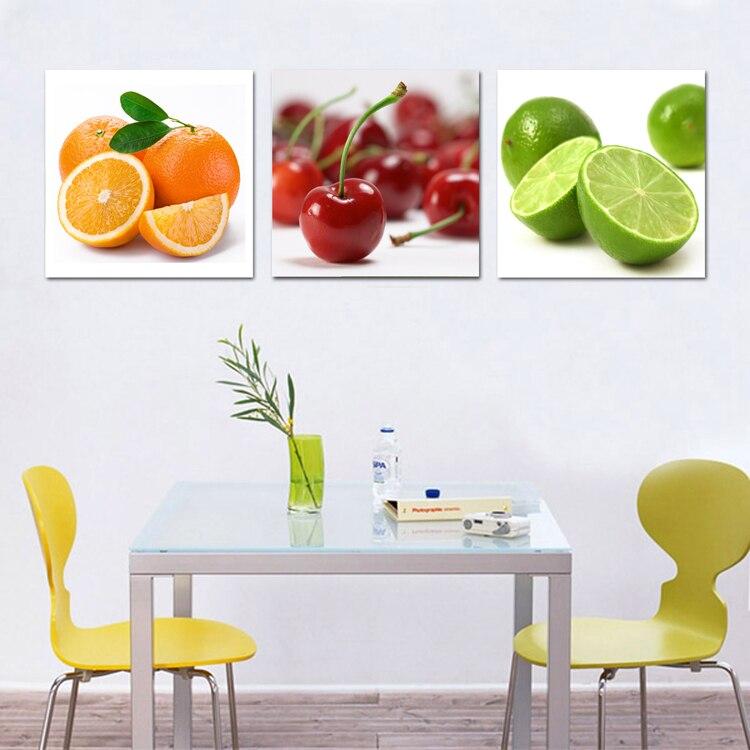 Arte de la lona frutas cocina lona pintura grandes cuadros for Cuadros para cocina vintage