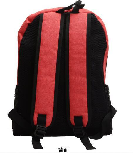 Naruto Akatsuki Bag Cloud Symbol Backpack