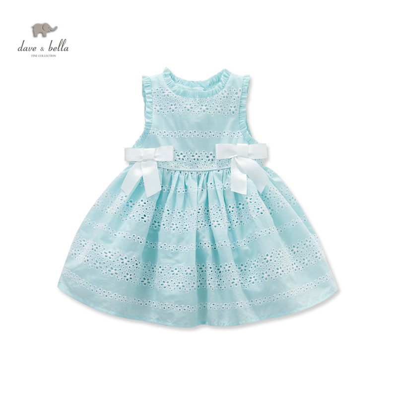 DB3461 dave bella  summer baby cute dress  baby girl fairy  dress children's boutique clothes  girl  lolita dress summer dress db5498 dave bella baby girl lolita dress stylish printed peter pan collar dress toddler children dress