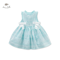 DB3461 Dave Bella Summer Baby Cute Dress Baby Girl Fairy Dress Children S Boutique Clothes Girl