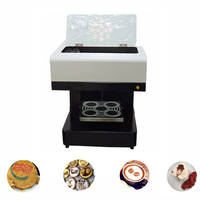 Vilaxh DIY Art Automatic Coffee Printer For Food Cake bread Cappuccino Biscuits Flower Drinks Printing Machine Free Edible ink