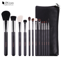 DUcare Full Size Professional 12pcs Makeup Brushes Set Cosmetic Tool Powder Foundation Eyeshadow Eyeliner Lip Brush