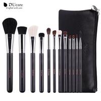DUcare Full Size Professional 12pcs Makeup Brushes Set Cosmetic Tool Powder Foundation Eyeshadow Eyeliner Lip Brush