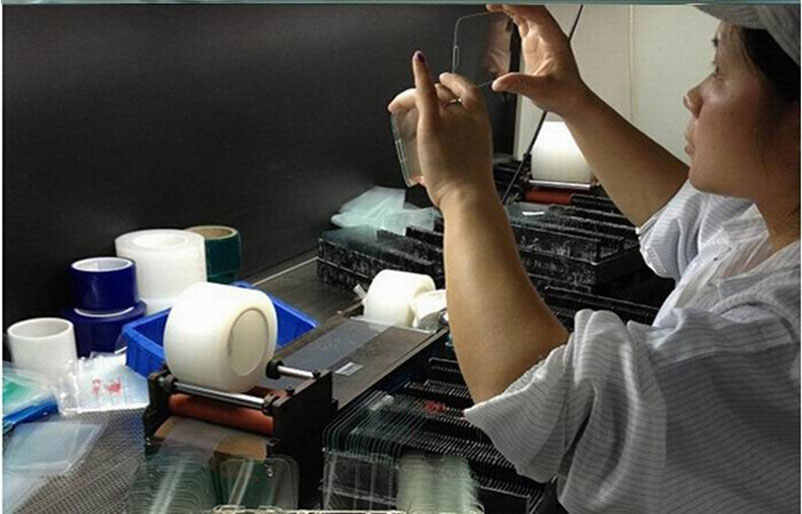 أعلى 9H الزجاج المقسى ل فون Xs ماكس XR 8X10 4 4s 5 5s 5c SE 6 6s زائد 7 واقي للشاشة فيلم حالة الهاتف حقيبة + القماش