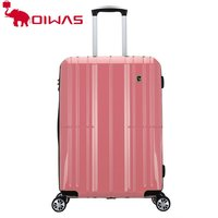 Fashion Women Pink Frame PC Trolley Luggage Brand Suitcase Lady Travel Bag Rolling luggage