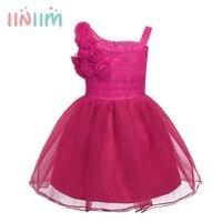 7 צבע יום הולדת בנות Bebe Infantil 1 בגדים בייבי טבילת שמלות שמלות הקיץ ללא שרוולים טוטו פעוטות יילוד תינוקות