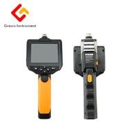 3,5 Hd промышленный эндоскоп бороскоп Инспекционная камера зум поворот мм 8,2 мм объектив водостойкий промышленный видео эндоскоп